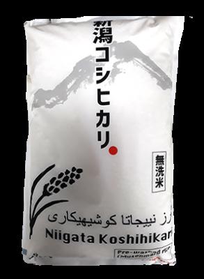 WHITE RICE NIIGATA KOSHIHIKARI PRE WASHED RICE